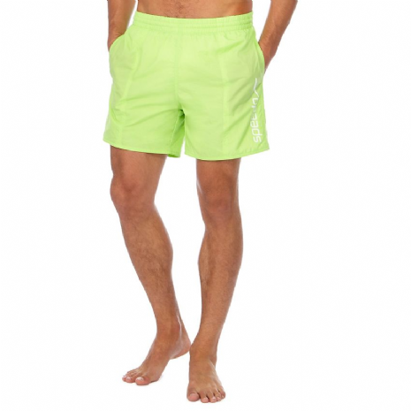 "SPEEDO MENS WATER SHORTS.SCOPE 16"" GREEN WATER REPELLANT TRUNKS/SWIMMERS 8S 891"